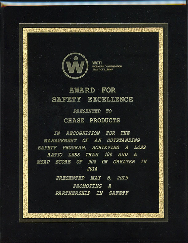 WCTI Safety Award