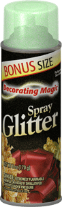 Green Spray Glitter