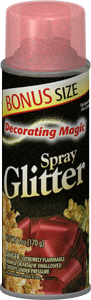 Red Spray Glitter