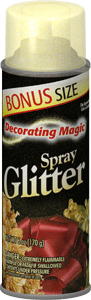 Gold Spray Glitter